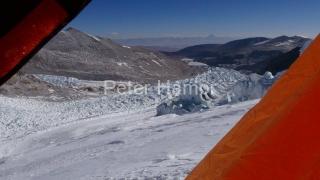 Nádherný výhľad z tábora vo výške 6 200 m.