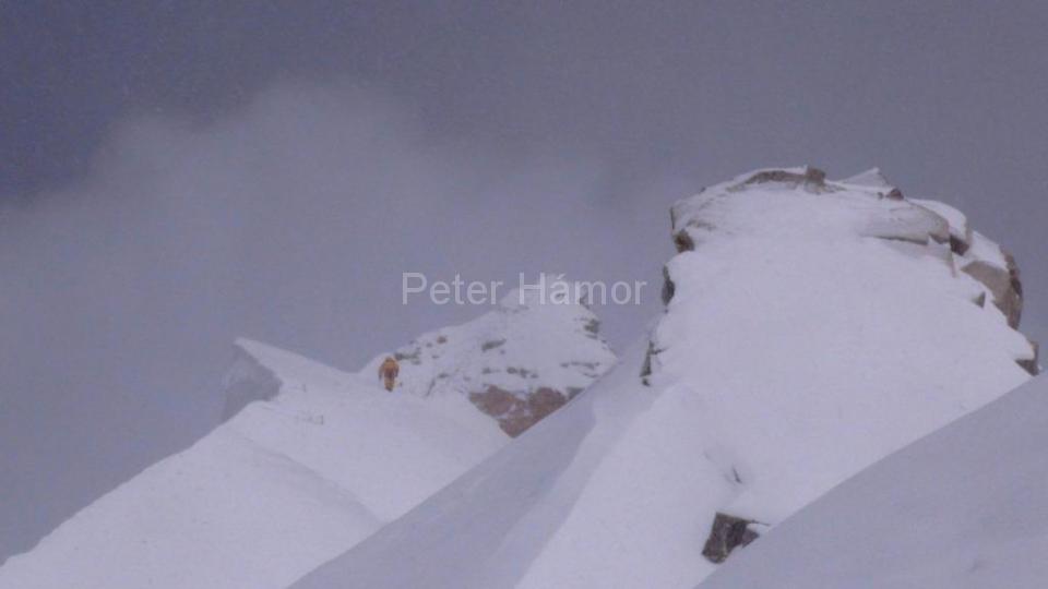 09-Horia na hrebeni pod hlavným vrcholom Manaslu