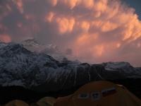 Búrka nad Annapurnou