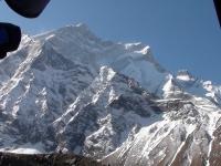 SZ stena Annapurny z BC