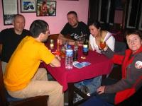 Peter, Piotrek, Zbyszek, Justyna a pani Anna