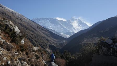 Nuptse, Lhotse a Everest