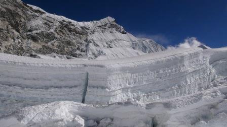 Vrchol Island Peaku z ľadovca