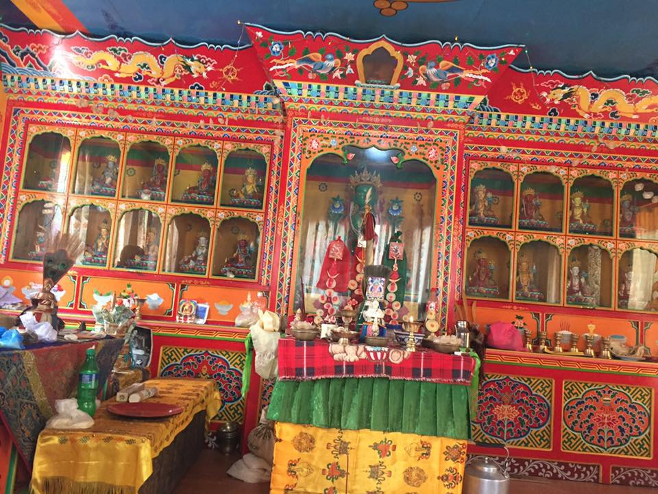 Pangboche kláštor (2)