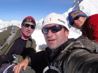 S Justinom a Horiom na vrchole Island Peaku.
