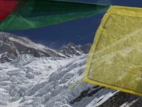 Kangchenjunga zo základného tábora.