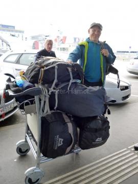 Rozlúčka s Európou na viedenskom letisku.