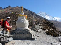 Cesta do Dingboche a Lhotse