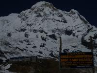 Annapurna South a Annapurna B.C.
