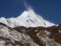 Manaslu (8163m) od východu.