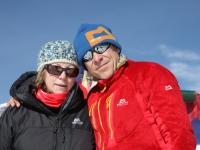 S Marikou v sedle Larke Bhanjyang (5106m).